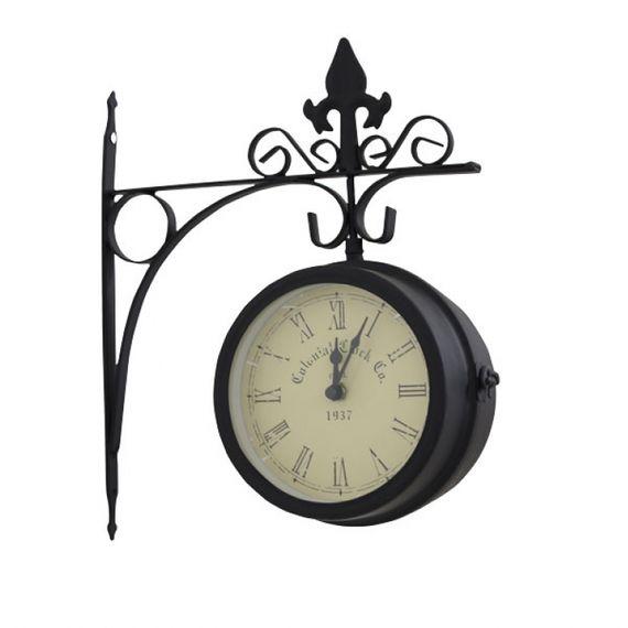 77015 Relógio Estação Colonial Clock