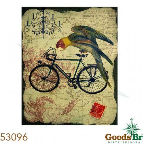 53096 Tela Pássaro na Bike VDE