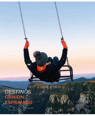 Cânion Espraiado em Urubici: ar livre e muita natureza em solo catarinense