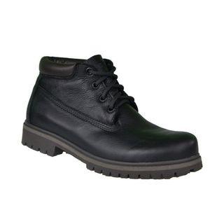 Bota Coturno Couro Beeton Masculina Yellow Boot Chukka Strong 415 Solado de Borracha