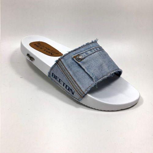 Chinelo Jeans Masculino Beeton Slide M 01