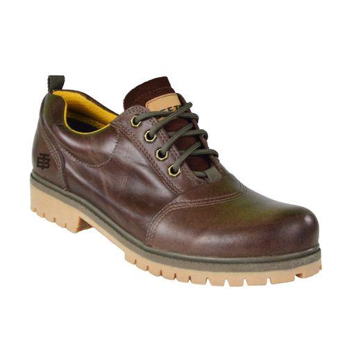 Sapato Couro Beeton Masculino Strong 403 Solado de Borracha