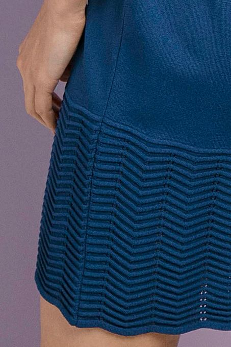 Vestido Tricô Venezianas Ondas | Vv062