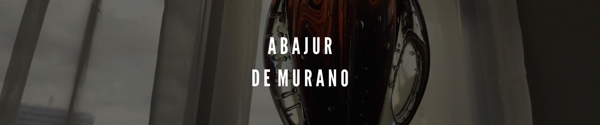 Abajures de Murano
