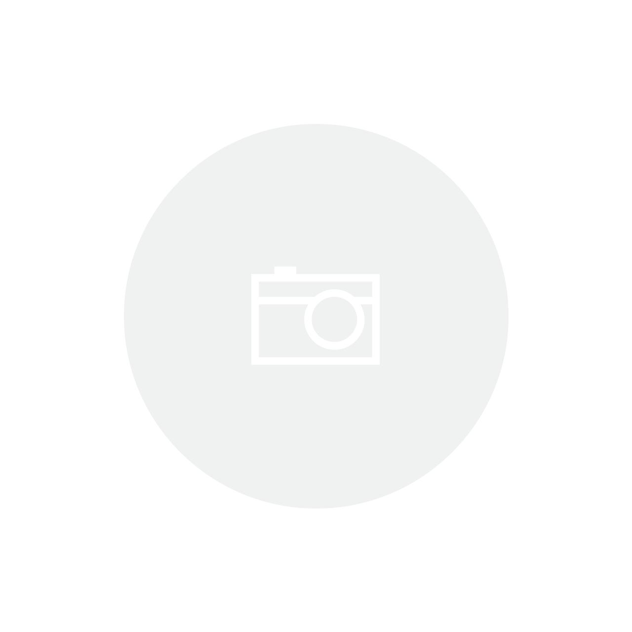 Abajur de Murano Preto com Base Inox