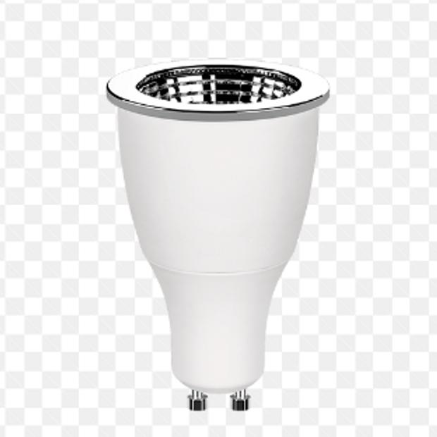 Kit 8 Lampadas Gu10 Led 7W