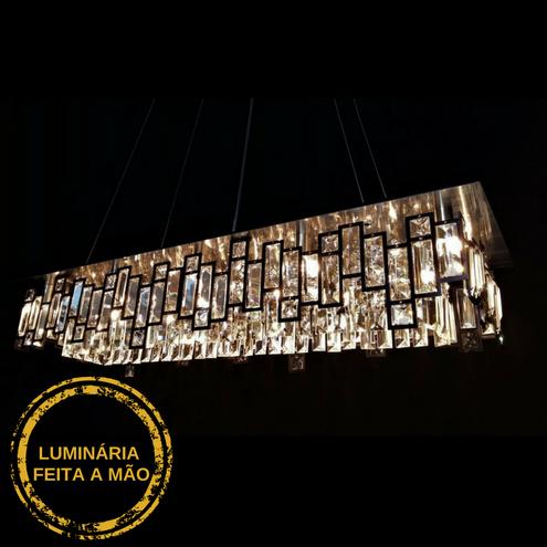 Luminária Pendente Livia - Preto 88X28