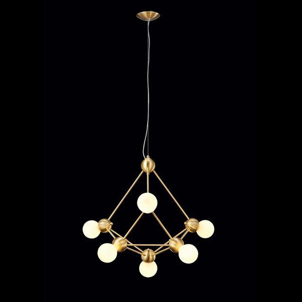 Luminária Pendente Vértice de Bronze Ii