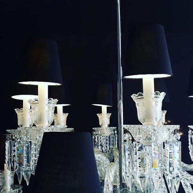 Lustre de Cristal Clássico
