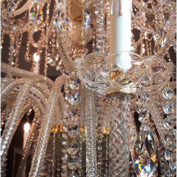 Lustre de Cristal Italiano 66 Braços