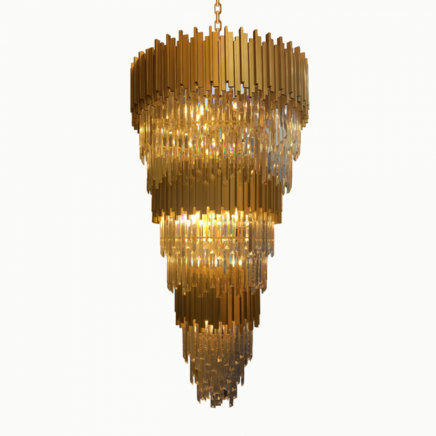 Lustre Grand Louis Cristais