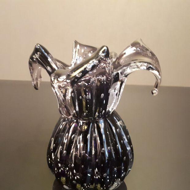 Mini Vaso Decorativo em Murano Roxo