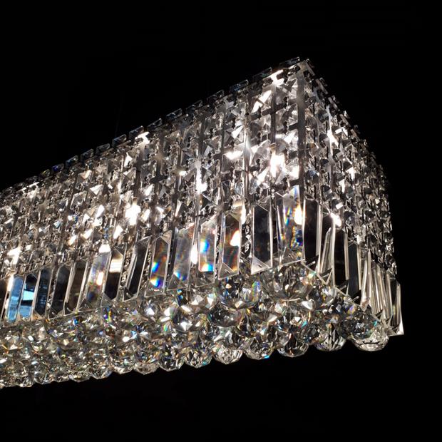 Pendente com Esferas de Cristal Clear