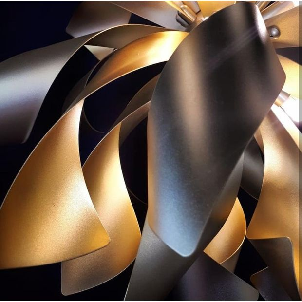 Pendente Design Dourado