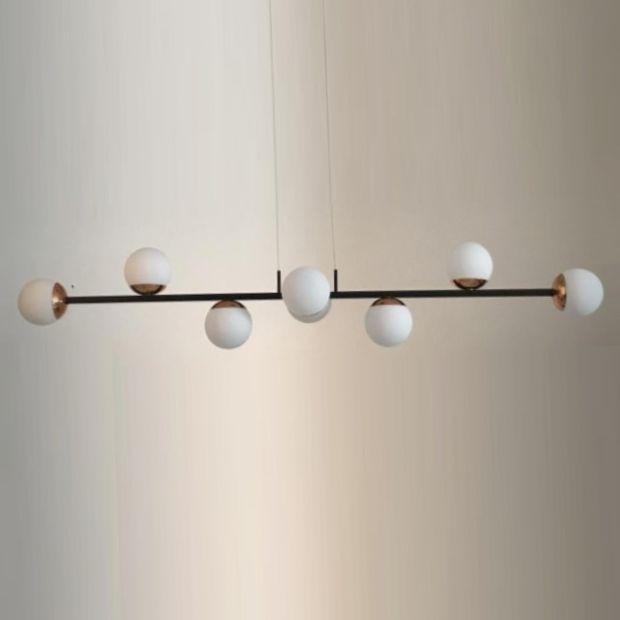 Pendente Globe Design 8 Lâmpadas