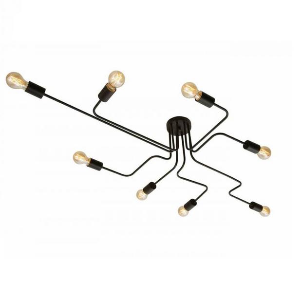 Plafon Design Eletro Preto