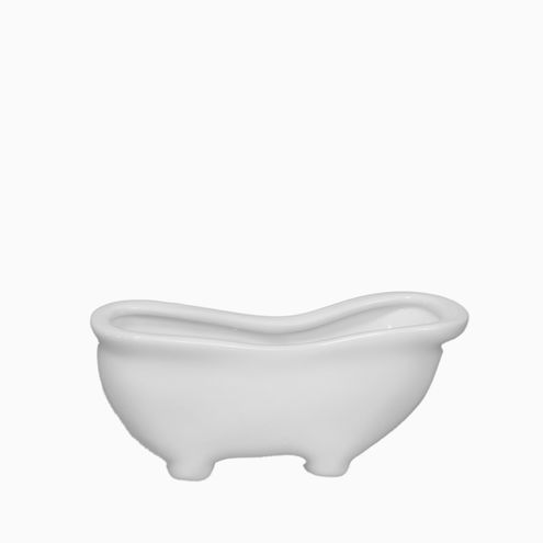 Banheira Branca Pequena