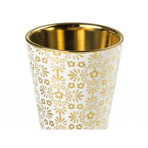 Cachepot Deco Gold Dourado
