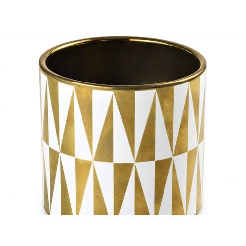 Cachepot Deco Gold 13,5x12,8cm