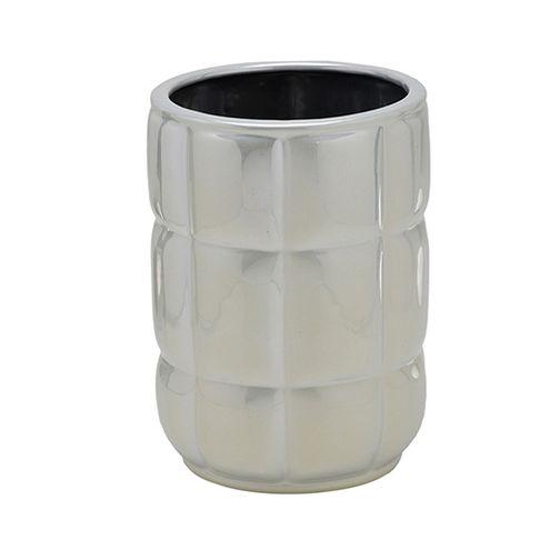 Cachepot Perolado Ceramica 24x17,5x17,5cm