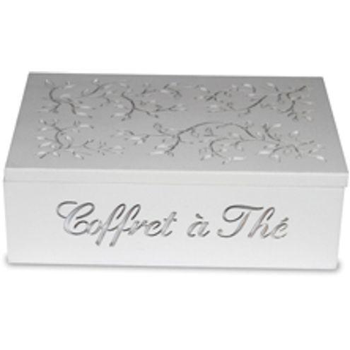 Caixa de Chá Branca