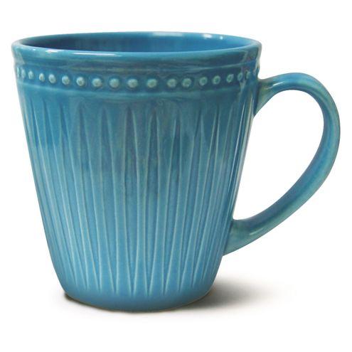 Caneca Relieve Azul 300ml Corona