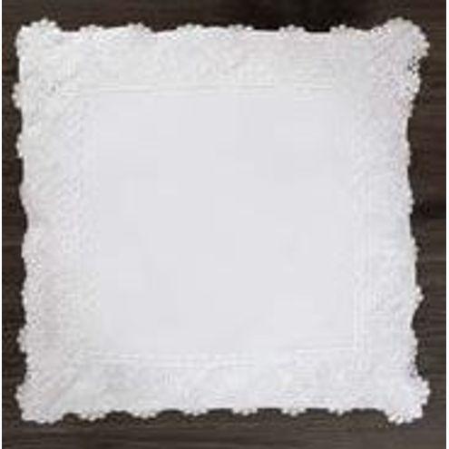 Capa de Almofada 45x45 cm Branca