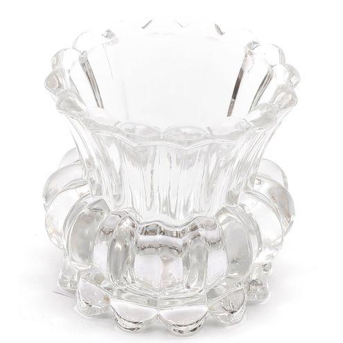 Castiçal de Vidro 8 * 8 cm