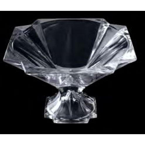 Centro de Mesa c/ pé Cristal 28,5X19 cm