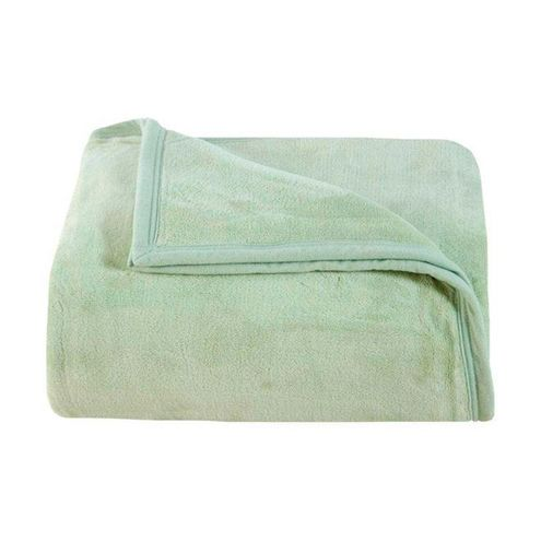 Cobertor Aspen Solteiro Cor Verde