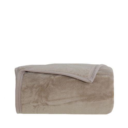 Cobertor Aspen S. King Castanho