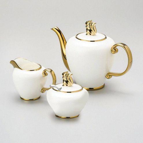 Cj. 3 Pças p/ Café de Porcelana Super White