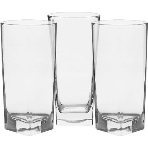 Copo Drink 400cm Vidro Transparente