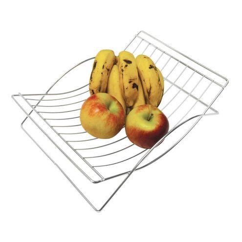 Fruteira Cromada 32X23Cm Utily Domama