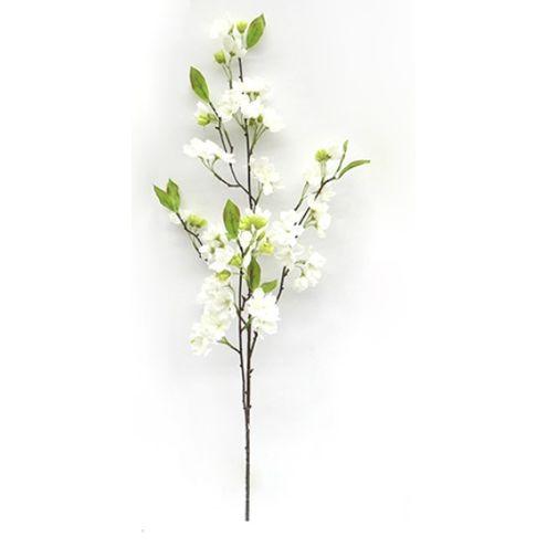 Galho de Cerejeira Branca 100cm Branca