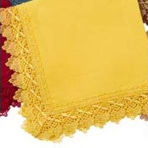 Guardanapo 45x45 cm Amarelo