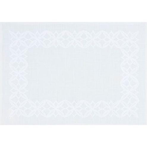 Jogo Americano Auguri Branco 35 x 50 cm