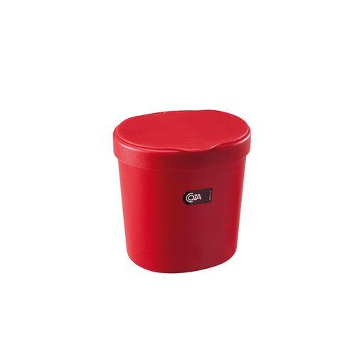 Lixeira 2,5 L Basic 17,5 x 15 x 18,2 cm - Pimenta Coza