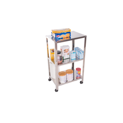 Organizador Inox 40x29x71cm Utily Domama