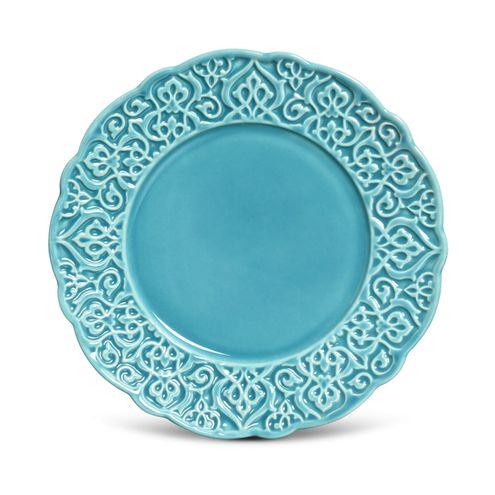 Prato Sobremesa Marrakech Azul