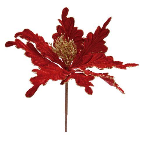 Pick Poinsetia Vermelho