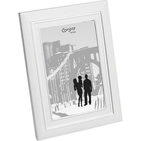 Porta Retrato 10x15cm Prata Aluminio GS Comercio Internacion