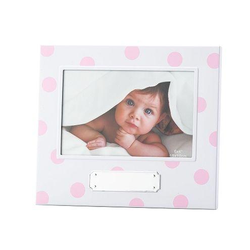 Porta Retrato Rosa Baby Girl 10X15cm