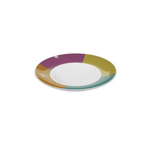 Prato Lanche Color Ø19Cm Brinox