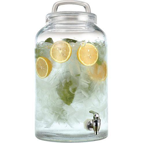 Refresqueira 8,5L Vidro Transparente