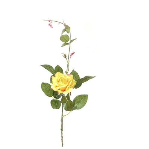 Rosa Diana 90cm Amarela