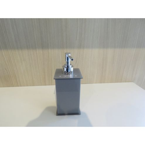 Saboneteira Liquida Elegance Cristal Metalli ABS (Pingente)