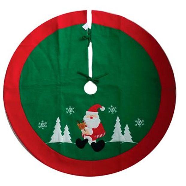 Saia de Arvore Papai Noel 90cm