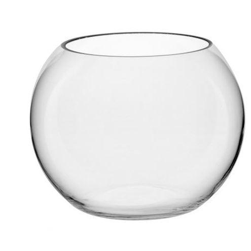 Vaso Nexxus 15 cm Vidro Transparente