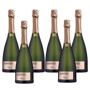 Kit Espumante Panizzon Brut Rose